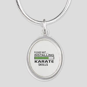 Please wait, Installing Karat Silver Oval Necklace