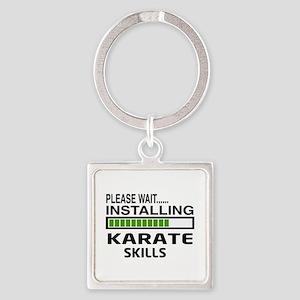 Please wait, Installing Karate Ski Square Keychain