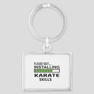 Please wait, Installing Karate Landscape Keychain