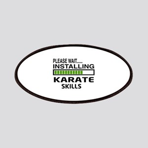 Please wait, Installing Karate Skills Patch