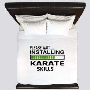 Please wait, Installing Karate Skills King Duvet