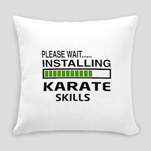 Please wait, Installing Karate Ski Everyday Pillow