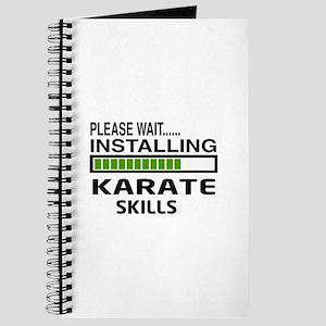 Please wait, Installing Karate Skills Journal
