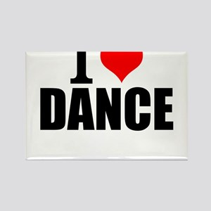 I Love Dance Magnets