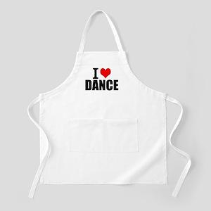 I Love Dance Light Apron