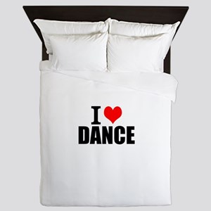 I Love Dance Queen Duvet