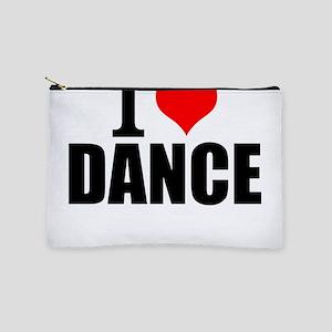 I Love Dance Makeup Bag