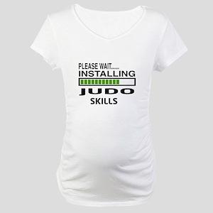 Please wait, Installing Judo Ski Maternity T-Shirt