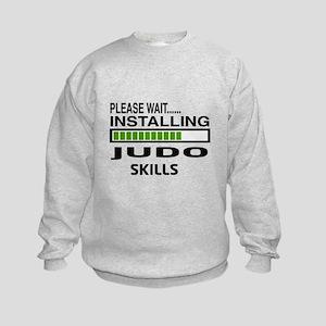 Please wait, Installing Judo Skill Kids Sweatshirt