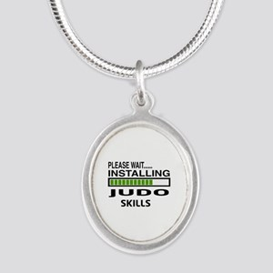 Please wait, Installing Judo Silver Oval Necklace