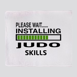 Please wait, Installing Judo Skills Throw Blanket