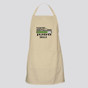 Please wait, Installing Judo Skills Apron