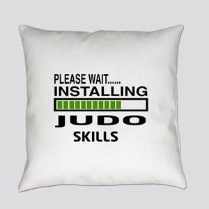 Please wait, Installing Judo Skill Everyday Pillow