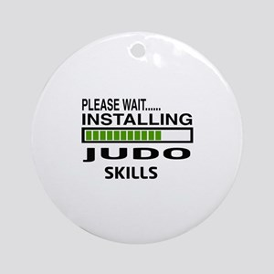 Please wait, Installing Judo Skills Round Ornament