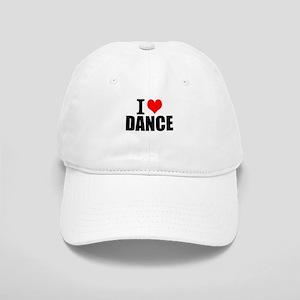 I Love Dance Baseball Cap