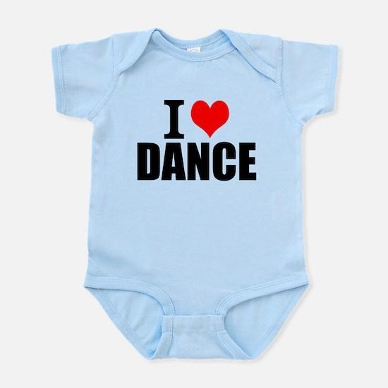 I Love Dance Body Suit