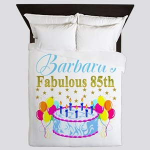 85TH PERSONALIZED Queen Duvet