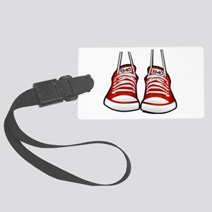 sneakers Large Luggage Tag