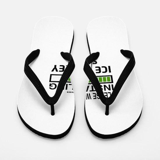 Please wait, Installing Ice Hockey Skil Flip Flops