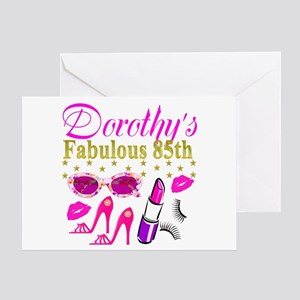 85TH PERSONALIZED Greeting Card