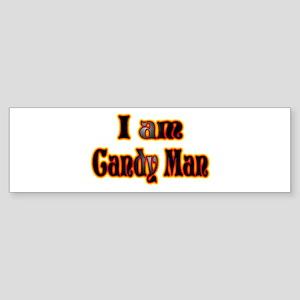 Halloween Candy Man Bumper Sticker