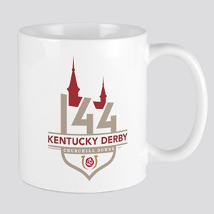 Kentucky Derby 144 Logo 11 oz Ceramic Mug