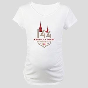 Kentucky Derby 144 Logo Maternity T-Shirt
