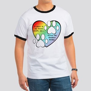 Rainbow Bridge Hear T-Shirt