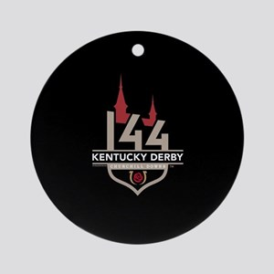 Kentucky Derby 144 Logo Round Ornament
