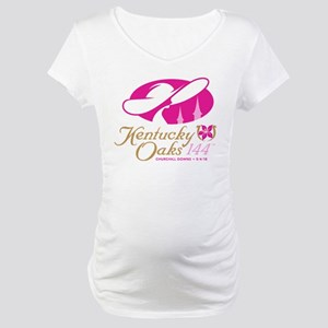 Official KY Oaks Logo Maternity T-Shirt
