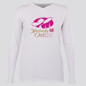 Official KY Oaks Logo Plus Size Long Sleeve Tee