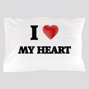 I Love My Heart Pillow Case