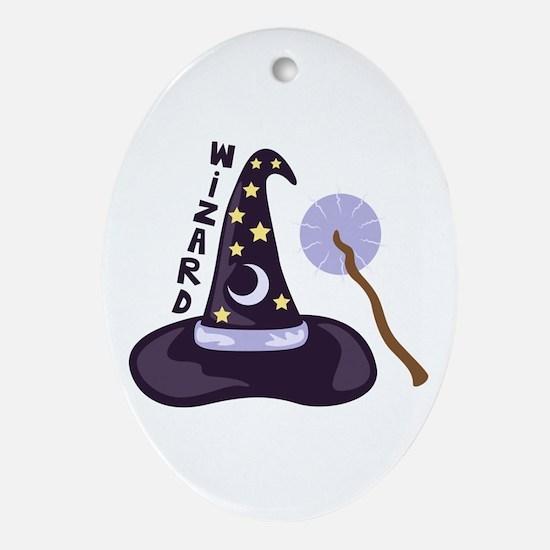 Wizard Oval Ornament