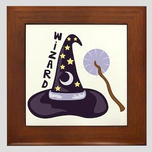 Wizard Framed Tile