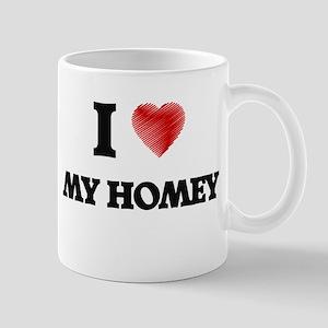 I Love My Homey Mugs