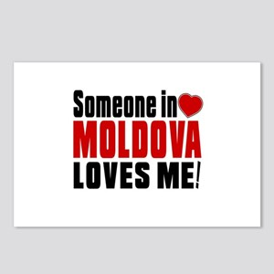 Someone In Moldova Loves Postcards (Package of 8)