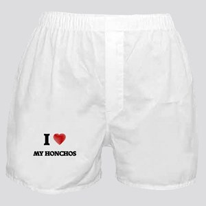 I Love My Honchos Boxer Shorts