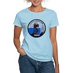 USS CHARLES J. BADGER Women's Light T-Shirt