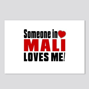 Someone In Mali Loves Me Postcards (Package of 8)