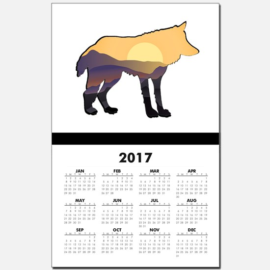 RISE TO IT Calendar Print