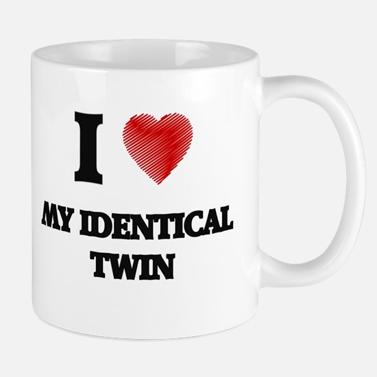 I Love My Identical Twin Mugs