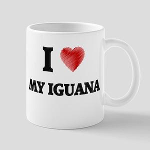 I Love My Iguana Mugs