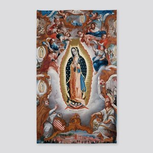 Virgin of Guadalupe Area Rug