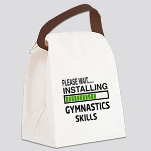 Please wait, Installing Gymnastic Canvas Lunch Bag