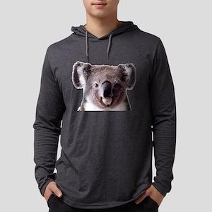 Large Happy Koala Bear Smiling Long Sleeve T-Shirt