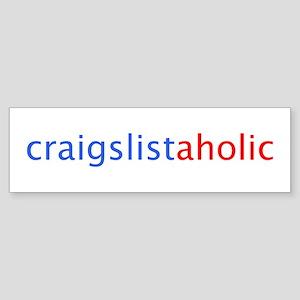 Craigslistaholic Bumper Sticker