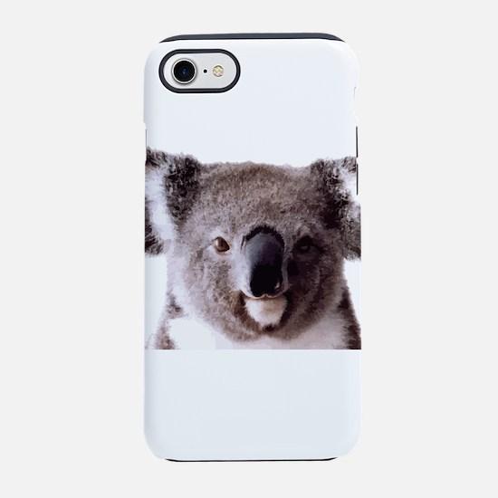 Large Happy Koala Bear Smili iPhone 8/7 Tough Case