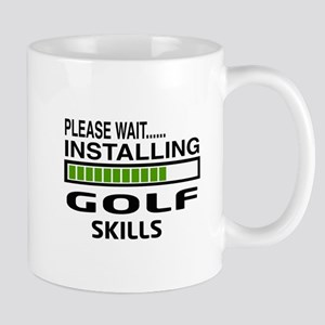 Please wait, Installing Golf Skills Mug