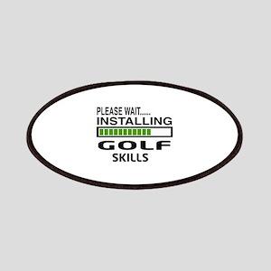 Please wait, Installing Golf Skills Patch