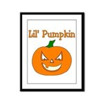 Lil' Pumpkin  Framed Panel Print